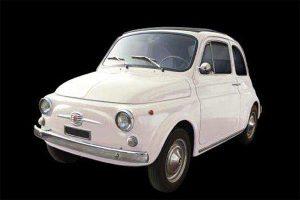 Fiat 500 F Model Kit