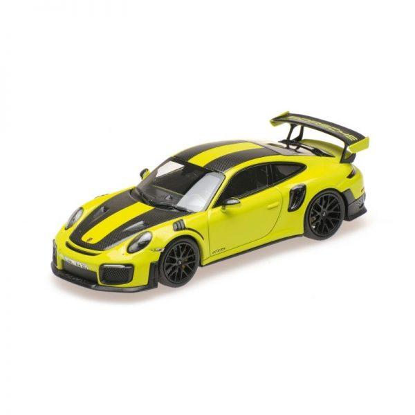 1:18 2018 Porsche 911 GT2 RS - Green W/Weissach Package