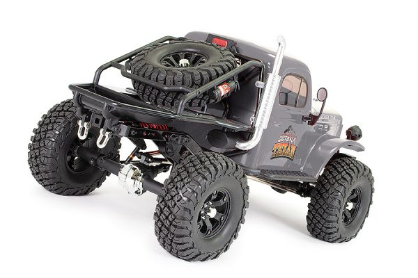 FTX Outback Texan 4X4 RTR 1:10 Trail Crawler - Grey