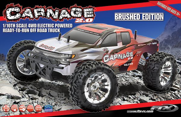 FTX Carnage 2.0 1:10 Brushed