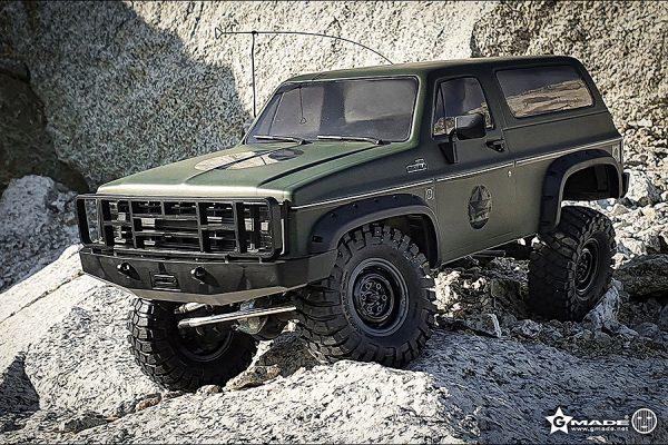 Gmade 1:10 GS02F Buffalo TS Military Car Model Kit