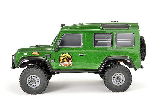 FTX Outback Ranger XC RTR 1:16 Trail Crawler - Green