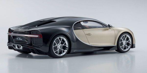 1:12 Bugatti Chiron - Gold / Black