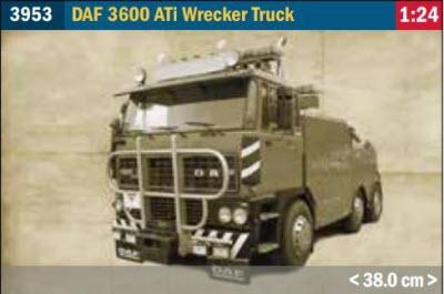 DAF 3600 ATi Wrecker Truck Model Kit
