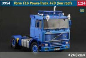 Volvo F16 Power-Truck 470 (low roof) Model Kit