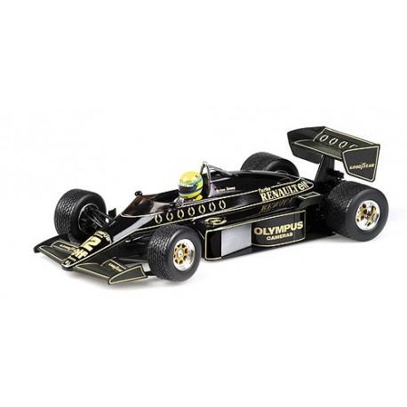 1:18 Lotus Renault 97T - Ayrton Senna - GP Portugal 1985 (W/Rain Tyres)