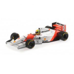 1:18 McLaren Ford MP4/8 - Ayrton Senna - Winner 1993 European GP