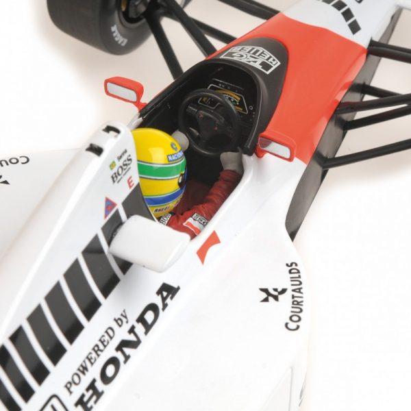 1:18 Mclaren Honda MP4/5B - Ayrton Senna - World Champion 1990