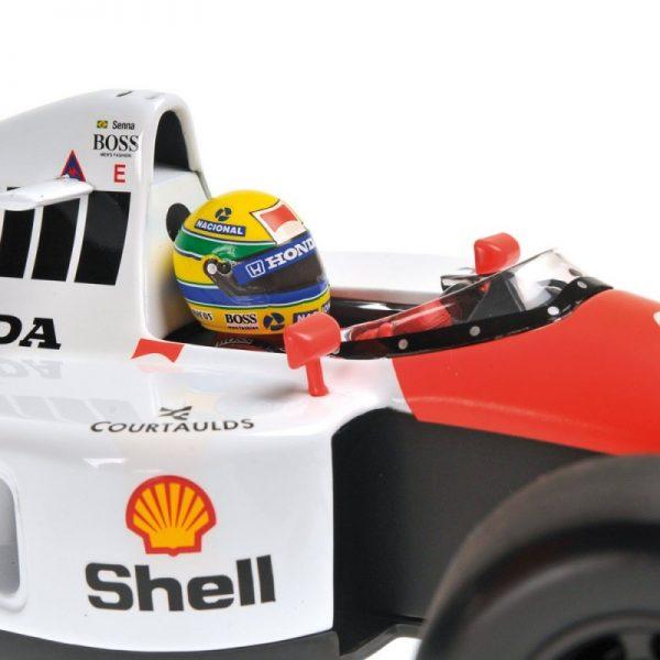 1:18 Mclaren Honda MP4/6 - Ayrton Senna - World Champion 1991