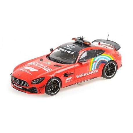 1:18 Mercedes GT-R  2020 F1 Safety Car Mugello 2020 - 1000 GP For Ferrari