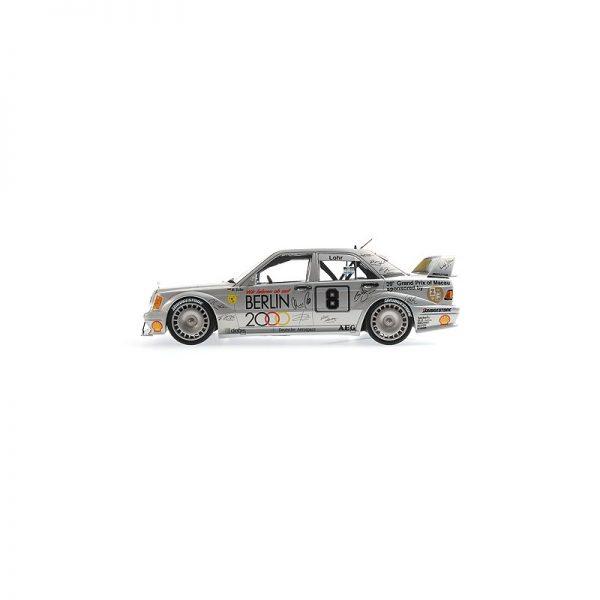 1:18 Mercedes 190E 2.5-16 Evo 2 - Ellen Lohr - Macao Guia Race 1992