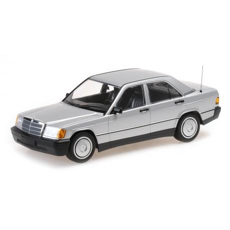 1:18 Mercedes-Benz 190E (W201) - 1982 - Silver