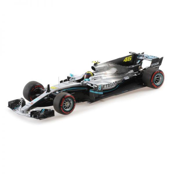 1:18 Mercedes F1 W08 EQ Power+ - Rossi - Ride Swap Valencia 2019