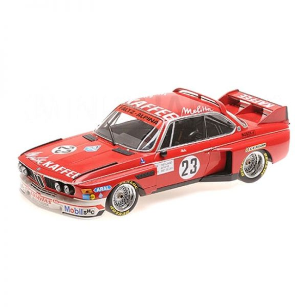 1:18 BMW 3.0 CSL - De-Fierlant/Grohs/Betzler - Zandvoort Trophy 1975