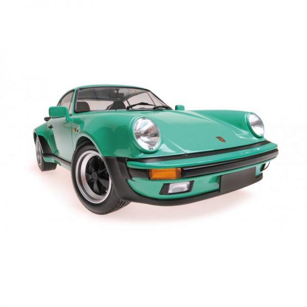 1:12 1977 Porsche 911 Turbo - Green