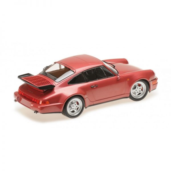 1:18 1990 Porsche 911 Turbo (964) - Red Metallic