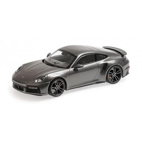1:18 Porsche 911 (992)  Turbo S - 2020 - Grey Metallic