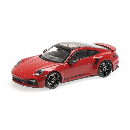 1:18 Porsche 911 (992)  Turbo S - 2020 - Red