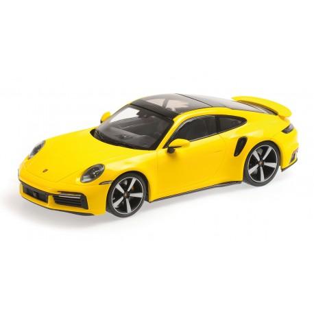 1:18 Porsche 911 (992)  Turbo S - 2020 - Yellow