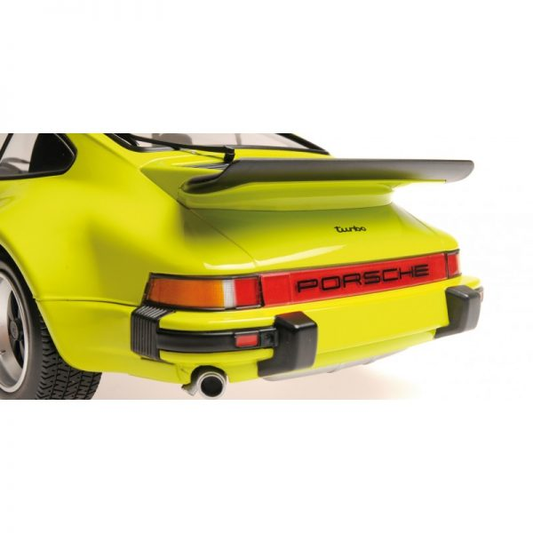 1:12 1977 Porsche 911 Turbo - Lime Green