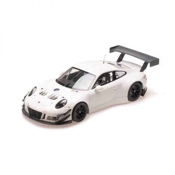 1:18 Porsche 911 GT3 R - Plainbody Version - White