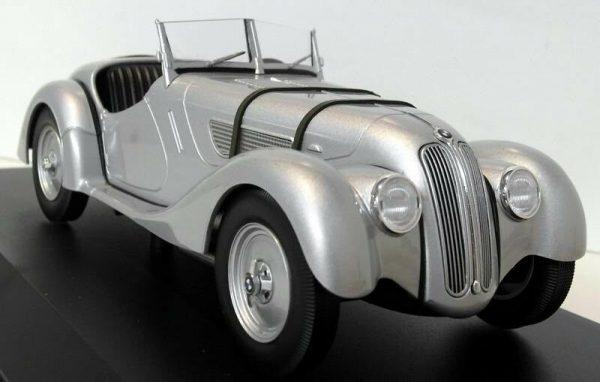 1:18 1936 BMW 328 - Silver
