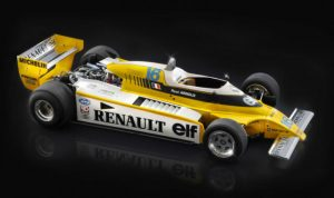 Renault RM 23 Turbo F1 Model Kit