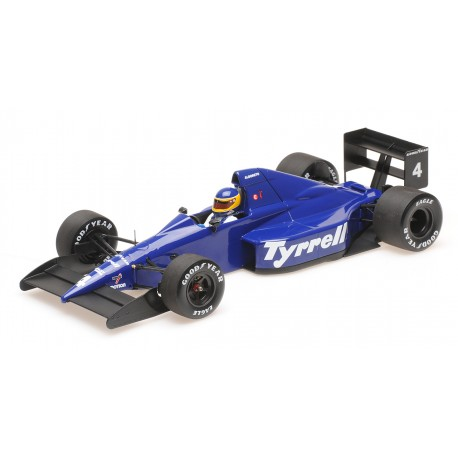1:18 Tyrrell Ford 018 - Michele Alboreto - 3rd Place Mexican GP 1989