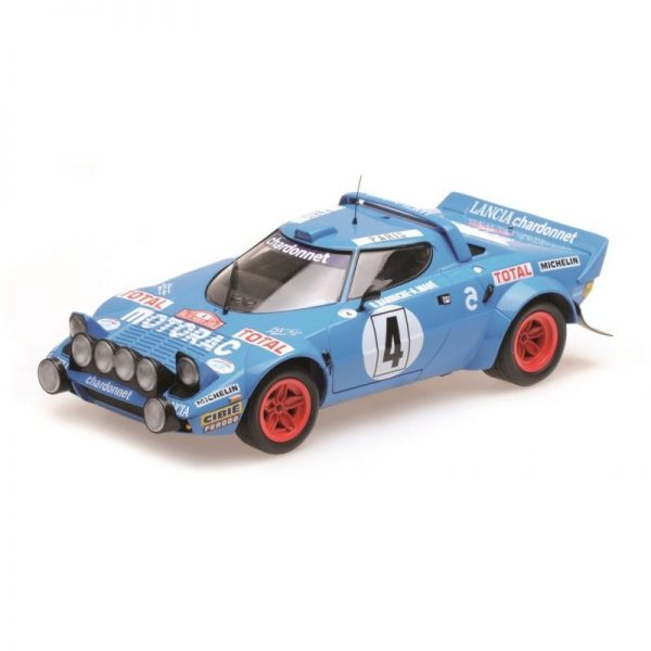 1:18 Lancia Stratos Winner 1979 Monte Carlo Rallye